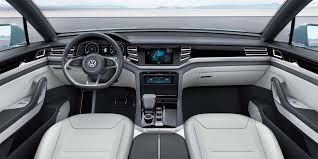 volkswagen inside vw s cross coupe gte concept sets stage for cross blue vw cross