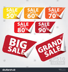sticker grand format big sale grand sale tags sale stock vector 113749378 shutterstock