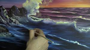 32 Best Paint Images On Sunset Sea Painting Lesson Youtube