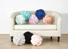 knot pillows mainstays medium decorative infinity knot pillow soft silver