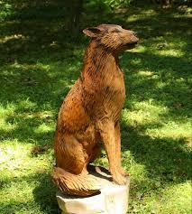 by dean fox chain saw wood carvings dean foxes