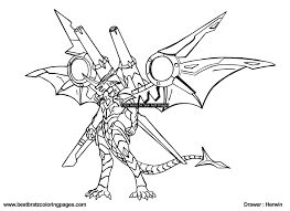 bakugan coloring pages to download and print for free
