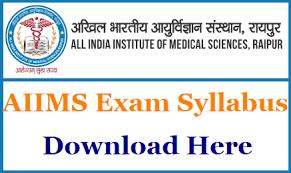 paper pattern of aiims aiims raipur group c syllabus pdf 2018 aiimsraipur edu in driver