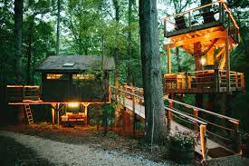 Tree House Home by Romantic Luxury Treehouse Retreat At Bolt Farm Treehouses For