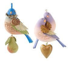 2 turtle doves ornaments ebay