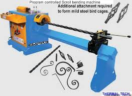 buy scroll bending machine from thermal tech india id 812785