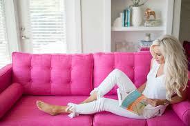 Pink Sofa Com Pink Sofa Goals Mckenna Bleu