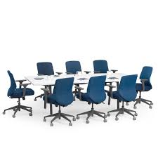 White Meeting Table Series A Conference Table White 96