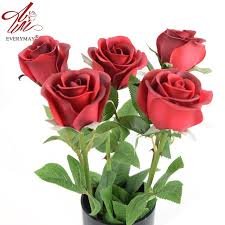 roses for sale hot sale pu 24 8 real touch feel artificial flowers