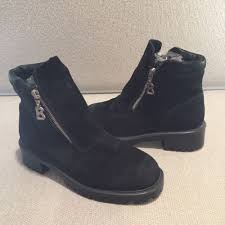 womens winter ankle boots canada bogner womens black suede leather after ski winter ankle boots
