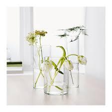 ikea vasi vetro trasparente cylinder set di 3 vasi ikea