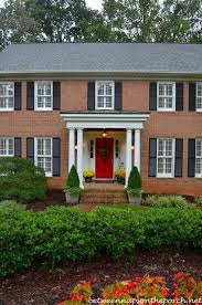 Best Colors With Orange Best 25 Brick House Colors Ideas On Pinterest Painted Brick