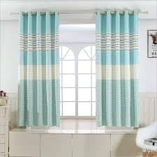 striped bedroom curtains half curtains for bedroom 1 panel short curtains window decoration