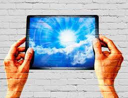 computer graffiti graffiti tablet sky technology stock photo image 40814058