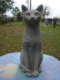 Cat Garden Decor 19 Best Cat Statues Images On Pinterest Cat Statue Crazy Cats