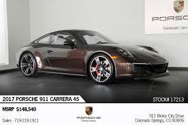 porsche 4s price 2017 porsche 911 4s for sale in colorado springs co 17213