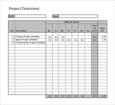Daily Timesheet Template Excel Sle Project Timesheet Sle Excel Timesheet Sheet Format