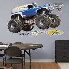 fathead monster jam grave digger legend decal wall sticker