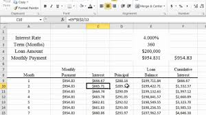Excel Mortgage Calculator Template Calculating Mortgage And Apr In Excel 2010