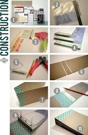Photo Album Page Inserts Great Tutorial From Kinsey On Making A Diy Mini Scrapbook Album To