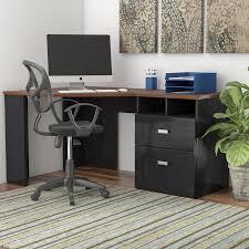 Bush Furniture Wheaton Reversible Corner Desk Latitude Run Estrada Reversible Corner Desk Reviews Wayfair
