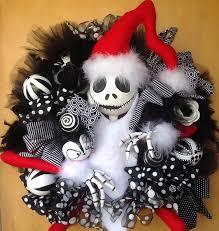 nightmare before christmas wreath jackskellington