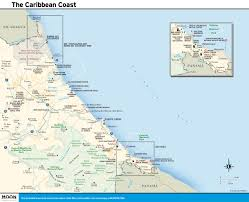 Map Caribbean by Printable Travel Maps Of Costa Rica Moon Travel Guides