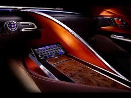 2012 lexus lf lc 2012 lexus lf lc hybrid sport coupe concept console 1280x960