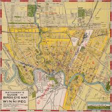 Map Od Hathaway U0027s Guide And Birds Eye Map Of Winnipeg 1911 Flickr