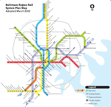 baltimore routes map baltimore to advance yellow line project ahead of metro extension