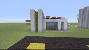 Build A Small House by How To Build A Small Modern House In Minecraft Youtube