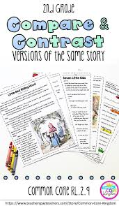 snowflake bentley worksheets 53 best compare and contrast images on pinterest teaching