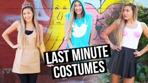 last minute boy halloween costume ideas diy last minute halloween costumes twitter mean girls u0026 paper
