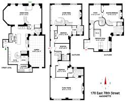 D D Floor Plans 78th St Nyc Triplex Dd Apartment Floorplan Wowza Bling