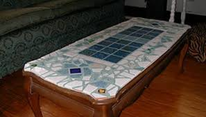 how to make a tile coffee table homesteady