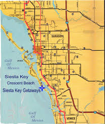 Map Of Southwest Florida by Siesta Key Getaways Vacation Lodging Accommodations For