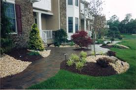walkway and landscaping landscaper nj lawn care nj patios nj