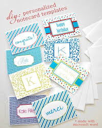 personalized notecards diy personalized notecards centsational style
