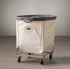 Ideas For Laundry Carts On Wheels Design Top 5 Favorites Wheeled Canvas Laundry Hers Remodelista In