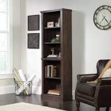 carson 5 shelf bookcase wayfair