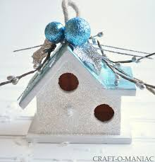diy embellished dollar bird house ornaments craft o maniac