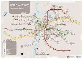 Transport Map Prague Transport Map