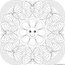 magnificent geometric mandala coloring pages with mandala coloring