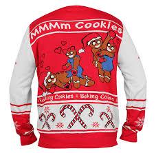 gear gingerbread sweater nsfw