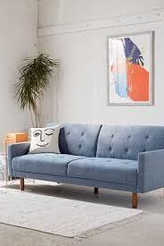minna velvet sofa mid century modern wood frame sofa with soft