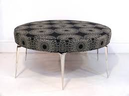 Round Ottoman Upholstered Round Ottoman Coffee Table Pictures U2014 Home Design And