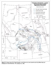 University Of Montana Map by Chapter 27 Williston Basin And Sweetgrass Arch