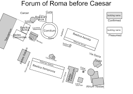 Forum Map File Forum Of Roma Before Caesar Svg Wikimedia Commons