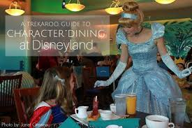 trekaroo s insider guide to character dining at disneyland trekaroo