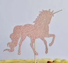 unicorn cake topper unicorn cake topper gold glitter the shire bakery
